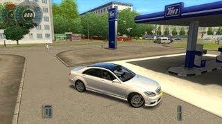 getlinkyoutube.com-City Car Driving Mercedes-Benz S65 AMG HD