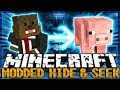 MORPH MOD Minecraft Modded Hide and Seek