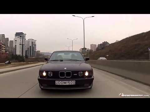 Дрифт по улицам Тбилиси на BMW M5