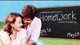 "getlinkyoutube.com-New Nepali Movie Song - ""Homework"" Harayain ma Timro || Aryan Sigdel, Namrata Shrestha"