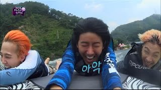 getlinkyoutube.com-【TVPP】Kwanghee(ZE:A) - Dropped from the boat, 광희(제국의아이들) - 팡팡보트에서 날아가버린 광희 @ Infinite Challenge