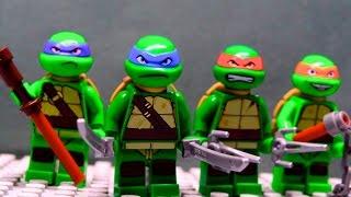 getlinkyoutube.com-LEGO TMNT Teenage Mutant Ninja Turtles