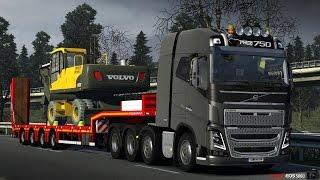 getlinkyoutube.com-Euro Truck Simulator 2 Volvo FH-16 750 8x4