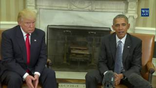 flushyoutube.com-President Obama Meets With President-Elect Trump