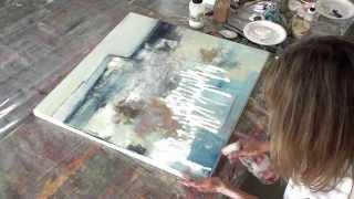 Acryl Abstrakt | Strukturen - structures - acrylic painting abstract