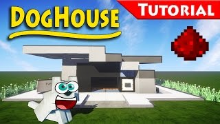 getlinkyoutube.com-The DogHouse You Always Wanted - Minecraft / How to build / Tutorial / Redstone / modern