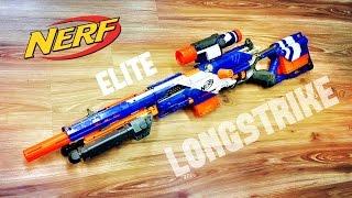 getlinkyoutube.com-[COMMUNITY] Nerf Elite Longstrike | Nerf Sniper Rifle / DMR Configuration by Darryl C.