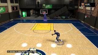 getlinkyoutube.com-NBA 2K15 BEST DRIBBLE PULL UP FOR JUMPSHOTS IN MyPark