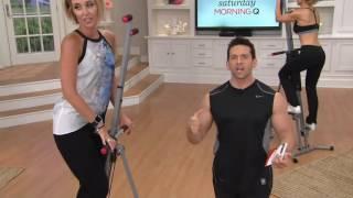 getlinkyoutube.com-MaxiClimber Full Body Workout Calorie Burning Fitness Machine on QVC