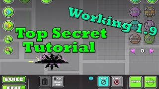 getlinkyoutube.com-Geometry Dash Tutorial | Move any objects before starting line | Working - 2.0, 2015