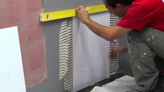 getlinkyoutube.com-How to do residential bathroom Wall Tiling