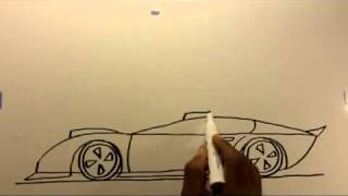 getlinkyoutube.com-como dibujar un carro