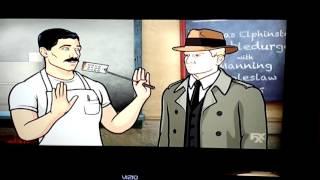 getlinkyoutube.com-Archer Bob's Burgers crossover