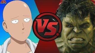 getlinkyoutube.com-ONE PUNCH MAN vs HULK! (Saitama vs World Breaker Hulk) Cartoon Fight Club Episode 147