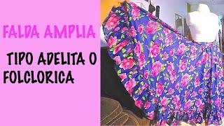 getlinkyoutube.com-FALDA TIPO ADELITA