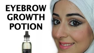 getlinkyoutube.com-Eyebrow Growth Potion - How To Grow Back Your Eyebrows