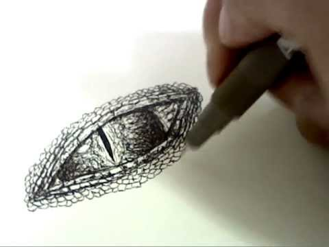 How To Draw Dragon Eyes