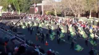 getlinkyoutube.com-Round Rock HS Dragon Band - 2015 Pasadena Rose Parade