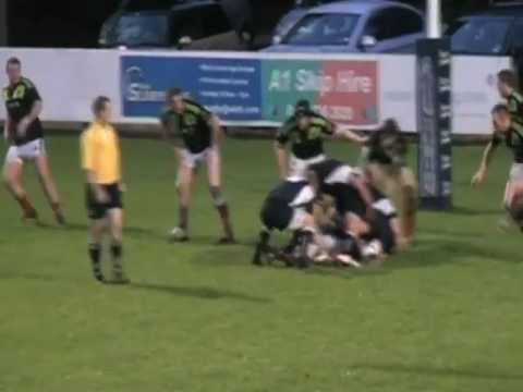 Nathan Fowles vs Munster (u20's)