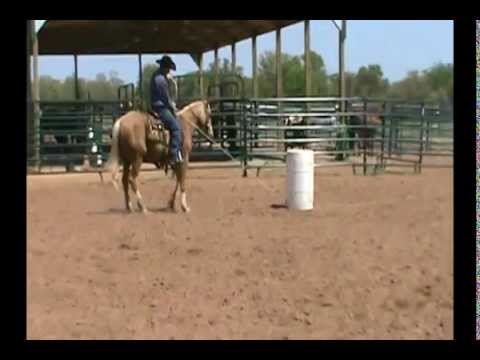Fridays Baby Boomer - Roping & Dragging A Barrel
