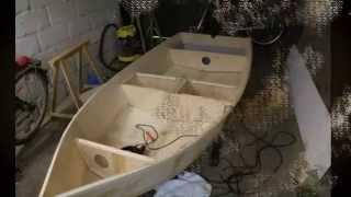 getlinkyoutube.com-Как сделать лодку из фанеры.