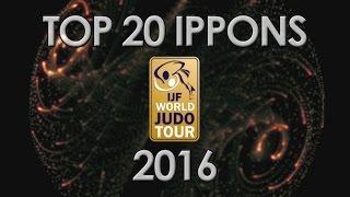 getlinkyoutube.com-TOP 20 IPPONS  - WORLD JUDO TOUR 2016