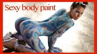 getlinkyoutube.com-☀☀ Crazy Sexy Body Paint Girls ☀☀
