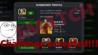 getlinkyoutube.com-Marvel Contest of Champions: RizzoTheLegend VS Dr.Z MEPro REMATCH