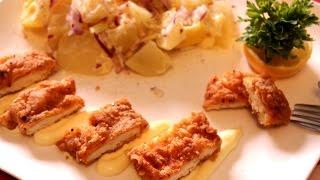 getlinkyoutube.com-Pohovana pikantna piletina - How To Make Crispy Fried Chicken Recipe
