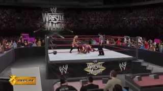getlinkyoutube.com-Trish Stratus and Alexa Bliss vs Lita and Bayley