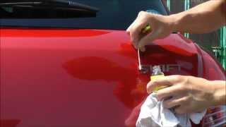 getlinkyoutube.com-スイフトスポーツ(ZC32S)のリアエンブレム外し方 Removing the rear emblem of the Swift Sport