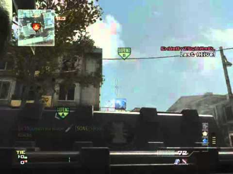Death Via Blade - MW3 Game Clip