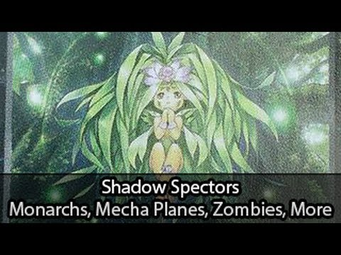 Monarchs, Mecha Planes, Zombies, Pot and More Shadow Spectors Discussion