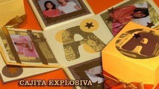 getlinkyoutube.com-Tarjeta Explosiva con Fotos - DIY - Explosive Card with Pics