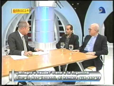 ENRIQUE MARQUEZ - Giorgio Bongiovanni: Milagro o Fraude? (23-04-2000) - Memoria