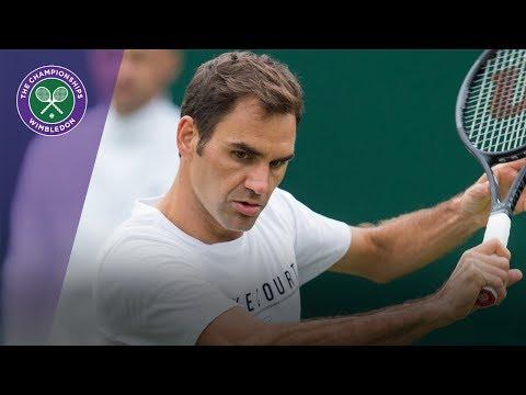 Roger Federer fine tunes Wimbledon 2017 preparations
