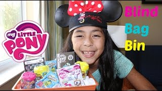 getlinkyoutube.com-Monday Blind Bag Bin My Little Pony|MLP Fashems| MLP Clickets Shopkins Trash Pack|B2cutecupcakes
