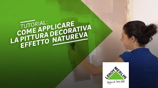 getlinkyoutube.com-Come applicare la pittura decorativa Natureva - Leroy Merlin