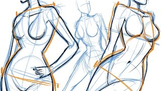 How to Draw: THE FEMALE BODY