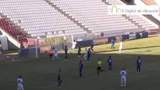 Albacete, 1; Real Valladolid, 4 (30-07-2013)