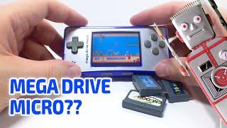 getlinkyoutube.com-MINI MEGADRIVE MICRO Games Console