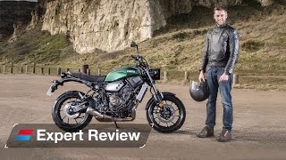 getlinkyoutube.com-2016 Yamaha XSR700 bike review
