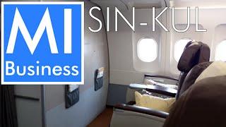 getlinkyoutube.com-SilkAir Business Class A320 Singapore to Kuala Lumpur