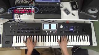 getlinkyoutube.com-Roland BK 9 demo - demo funkcji Audio KEY (odtwarzanie WAV z klawiatury)
