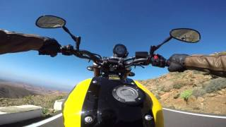 getlinkyoutube.com-Yamaha XSR 900 - press launch - Uncut, Raw footage