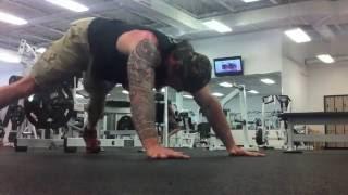 getlinkyoutube.com-U.S. Navy SEAL Chris McKinley: Mini WOD: 3 Some's & 4 Play