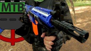 getlinkyoutube.com-James' Nerf Retaliator - Community Gear   Make Test Battle