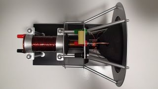 getlinkyoutube.com-Altavoz electrodinámico de dos vías / Homemade two way electrodynamic loudspeaker