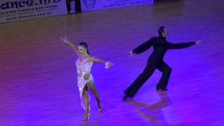 getlinkyoutube.com-Slavik Kryklyvyy & Karina Smirnoff Showcase 2 | Kyiv Open 2015 | Славик Крикливый и Карина Смирнова