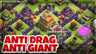 getlinkyoutube.com-Best TH 7 War Base 2016 - ANTI DRAGON | ANTI GIANT